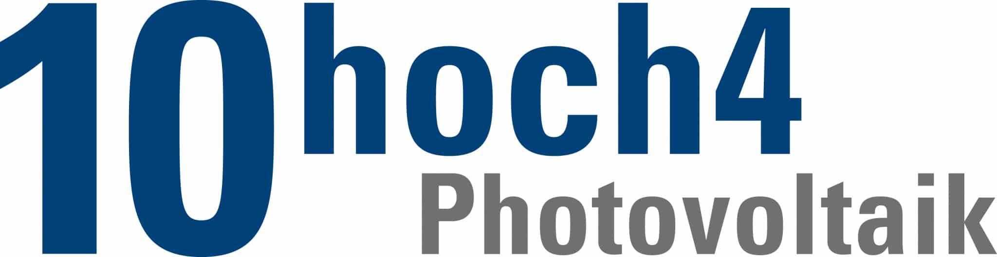 Logo 10hoch4 Photovoltaik