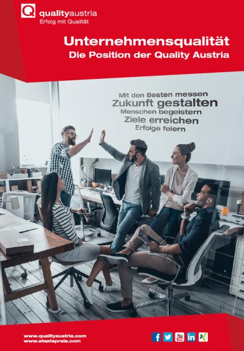 Titelblatt Positionspapier Unternehmensqualität