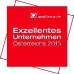 Logo Exzellentes Unternehmen Österreich 2015