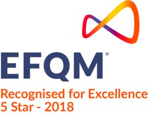 EFQM Recognised for Excellence 5 Star 2018