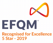 Logo Recognised for Excellence 5 Star 2019