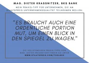 Staatspreis Tippkarte BKS Krassnitzer
