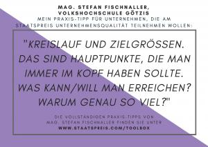 Staatspreis Tippkarte VHS Götzis Fischnaller