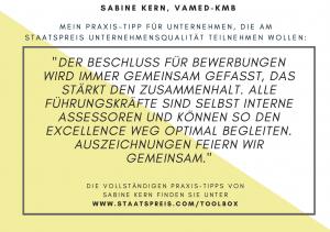 Staatspreis Tippkarte VAMED-KMB